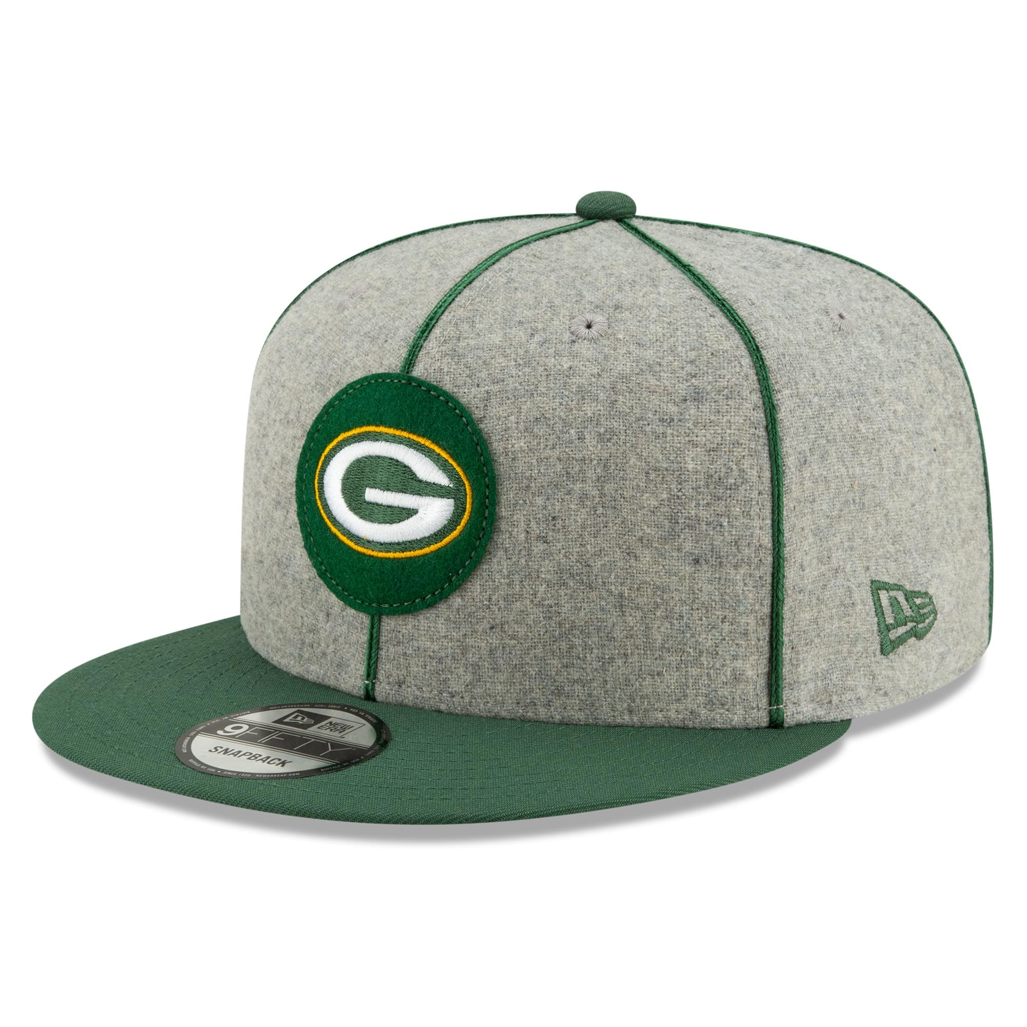 Green Bay Packers New Era 2019 Official Home Sidel official Anders Bjork jersey